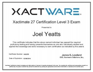 About us for Xactimate 28 tutorial